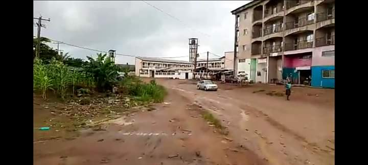 Land for sale at Douala, Lendi, LENDI MAISON BLANCHE DEUXIÈME LOT DU GRAND BOULEVARD. - 300 m2 - 10 500 000 FCFA