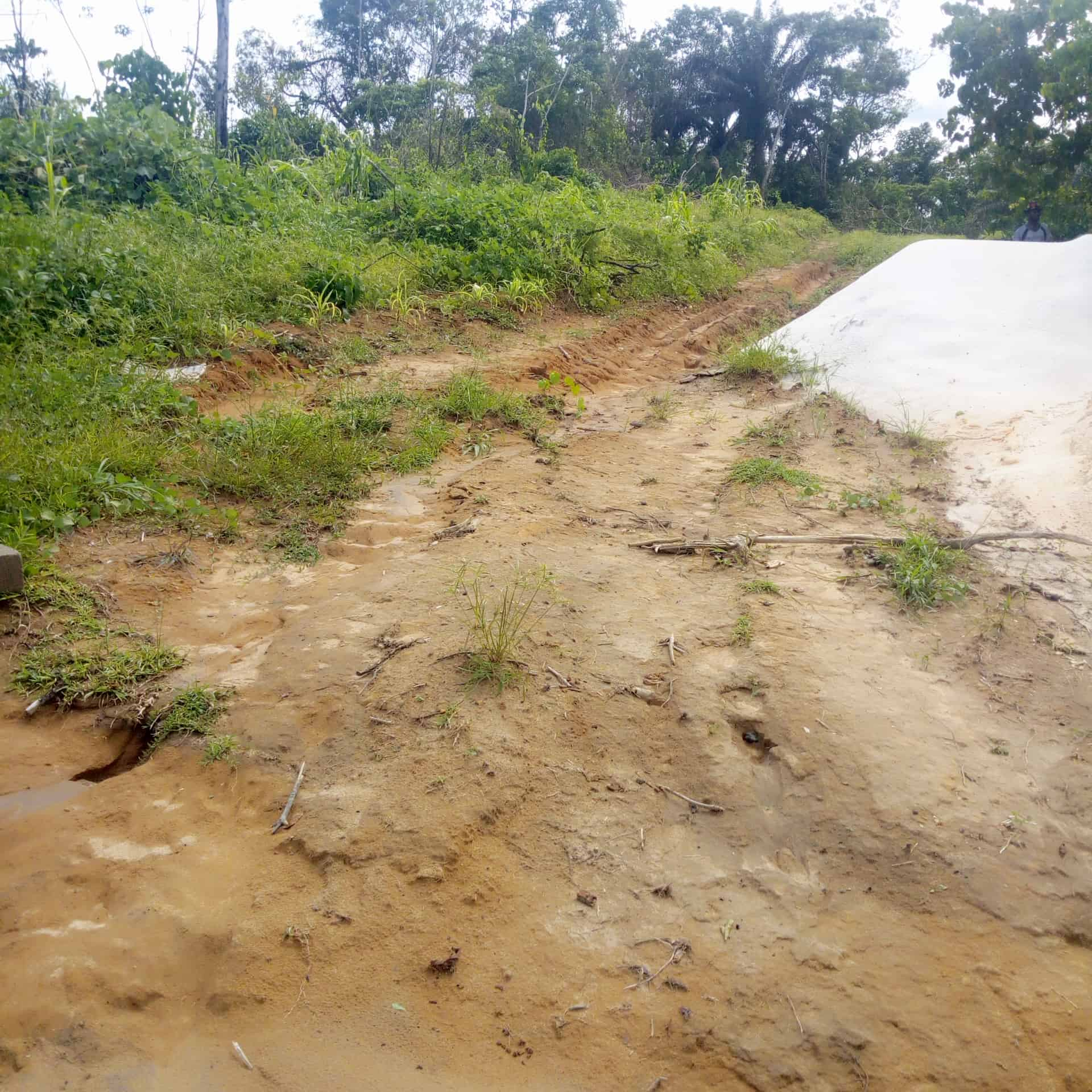 Land for sale at Douala, PK 24, Barrière de police - 2000 m2 - 7 000 000 FCFA