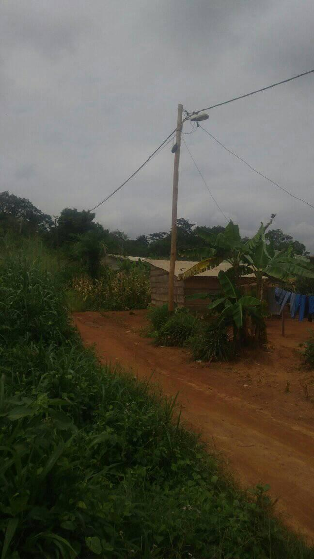 Land for sale at Yaoundé, Centre administratif, nkoabang - 500 m2 - 7 500 000 FCFA