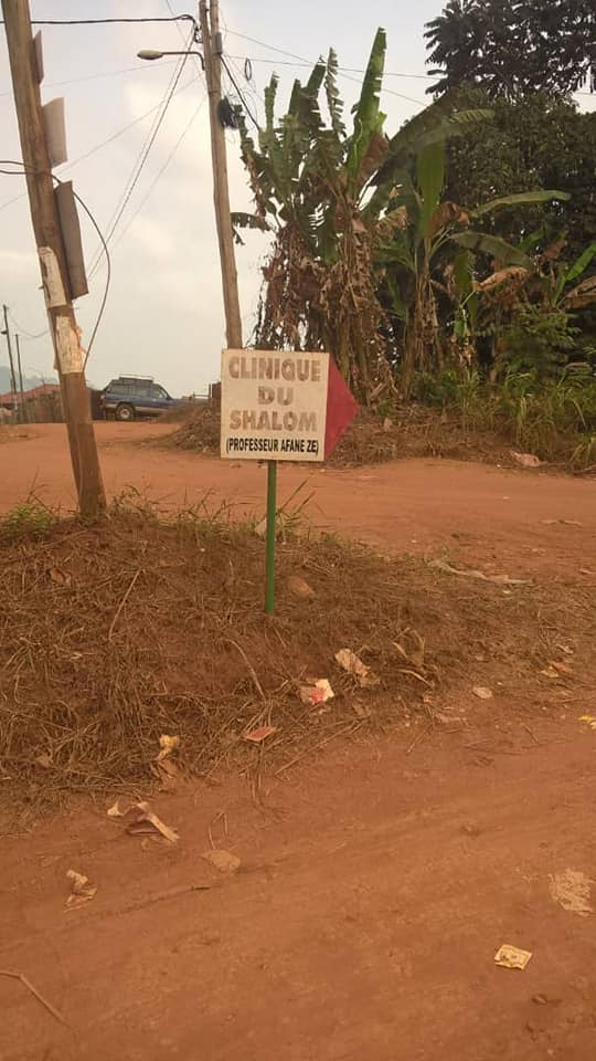 Land for sale at Yaoundé, Nkolbisson, ecole publique - 1000 m2 - 30 000 000 FCFA