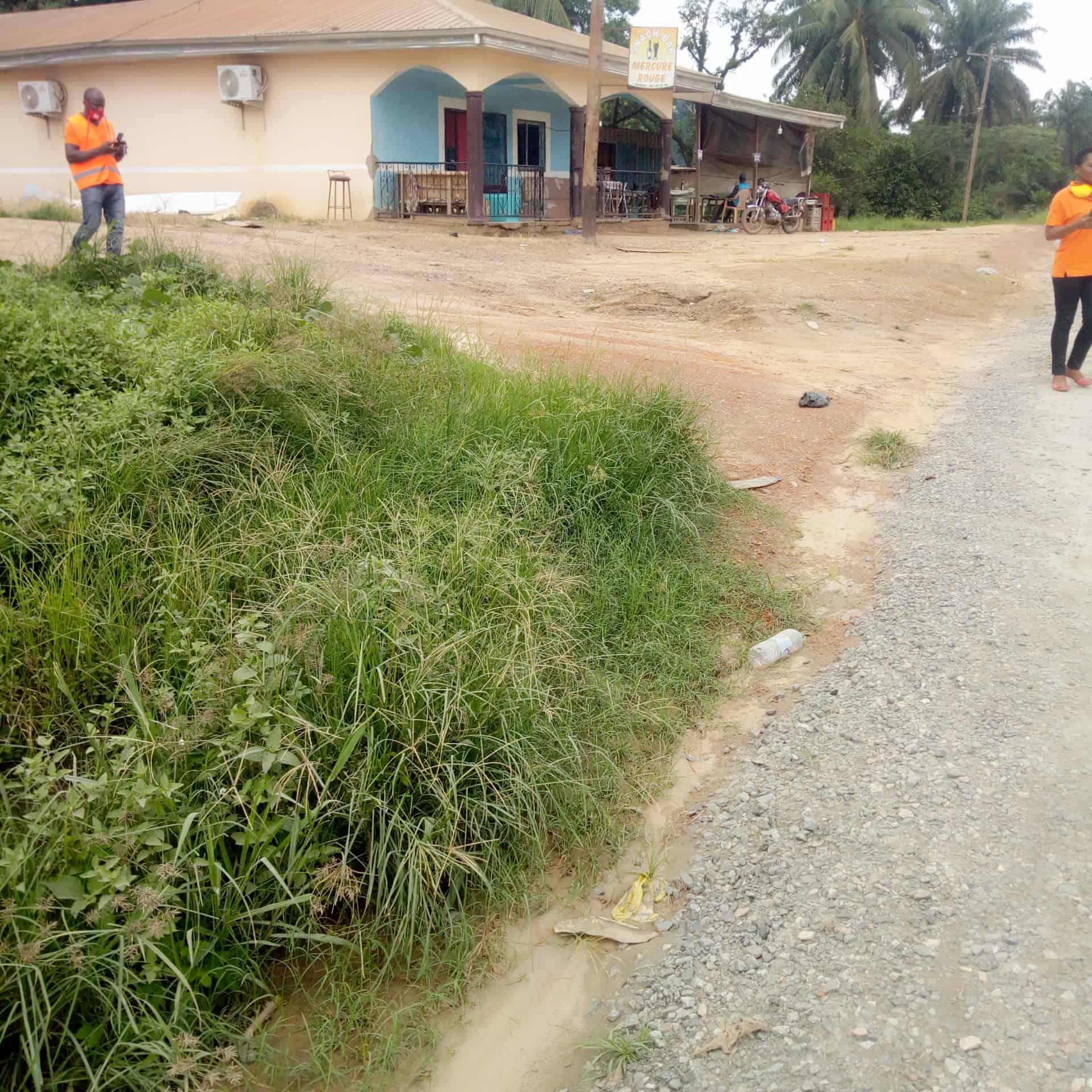 Land for sale at Douala, PK 26, En route - 5000 m2 - 7 000 000 FCFA