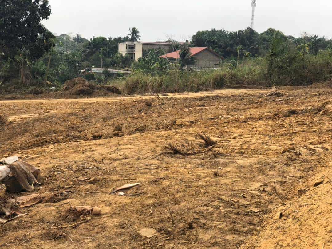 Land for sale at Douala, PK 20, Non loin de l'église catholique de PK 21 - 150000 m2 - 6 000 000 FCFA