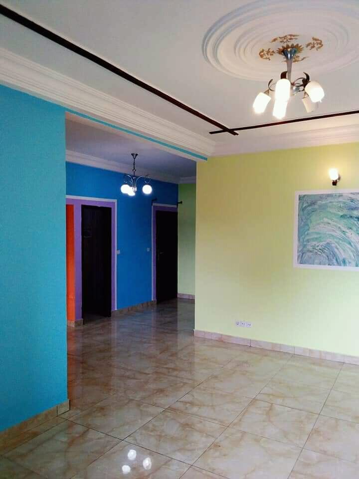 Apartment to rent - Douala, Bangue, Kotto - 1 living room(s), 2 bedroom(s), 2 bathroom(s) - 140 000 FCFA / month