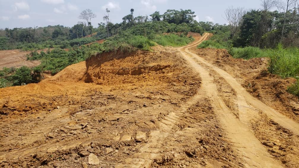 Land for sale at Douala, Bassa, Pl31 - 100000 m2 - 6 000 000 FCFA