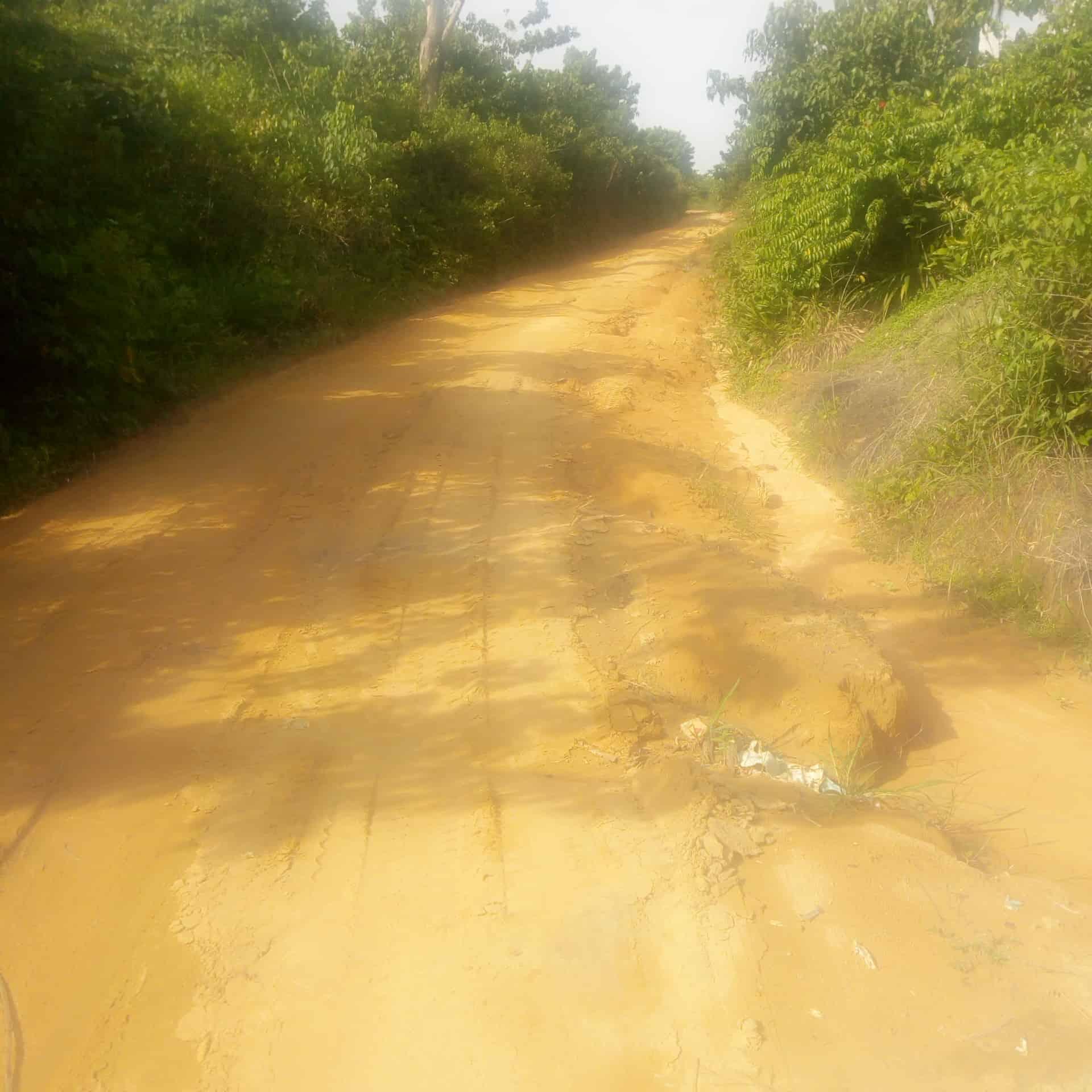 Land for sale at Douala, PK 26, Séminaire - 5000 m2 - 6 000 000 FCFA