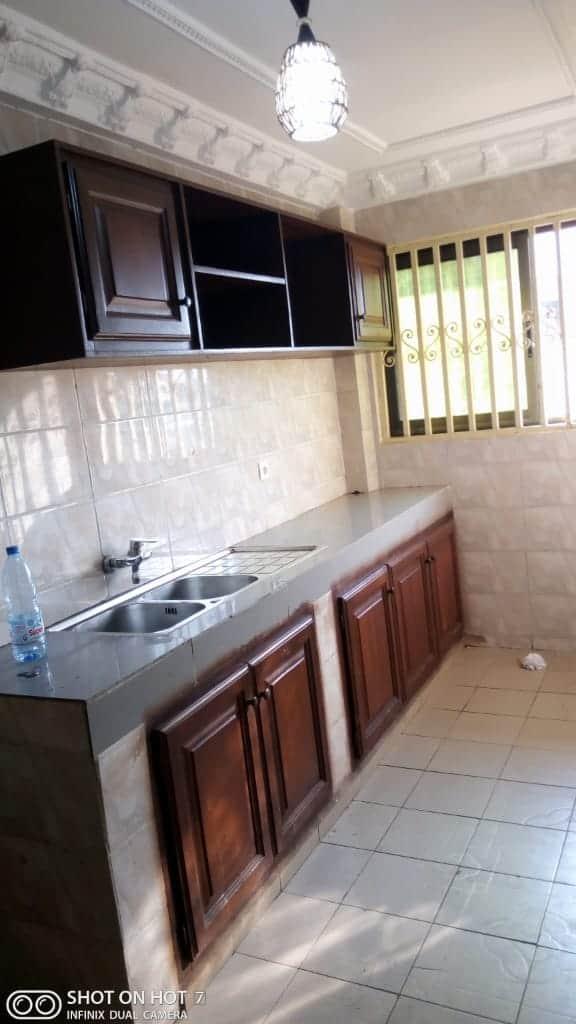 Apartment to rent - Douala, PK 14, C'est a pk13 - 1 living room(s), 2 bedroom(s), 3 bathroom(s) - 130 000 FCFA / month
