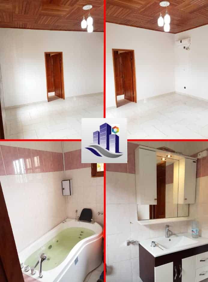 House (Duplex) to rent - Yaoundé, Bastos, Dragage - 2 living room(s), 4 bedroom(s), 4 bathroom(s) - 1 500 000 FCFA / month