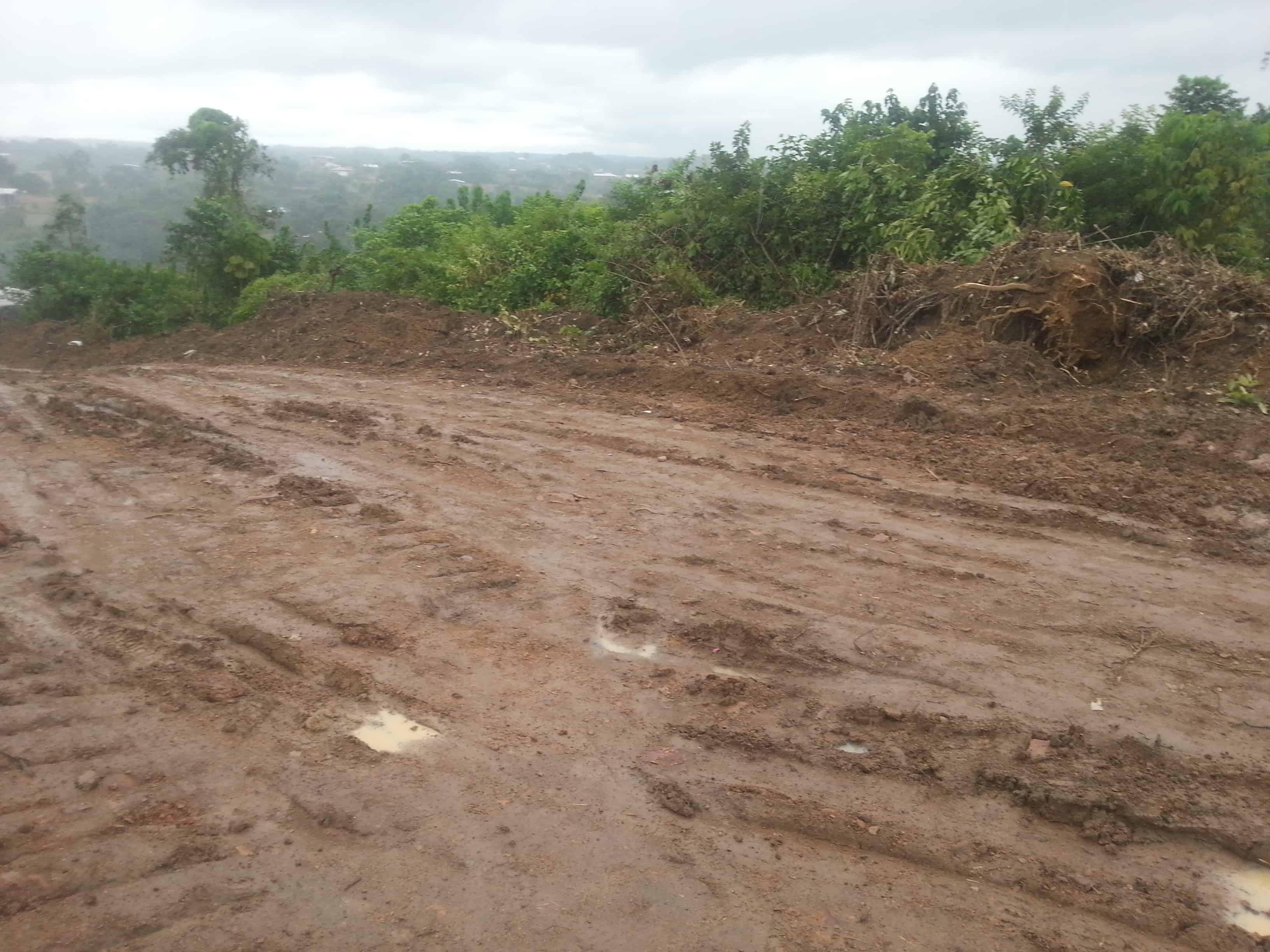 Land for sale at Douala, PK 17, derrière l'Université - 300 m2 - 6 000 000 FCFA