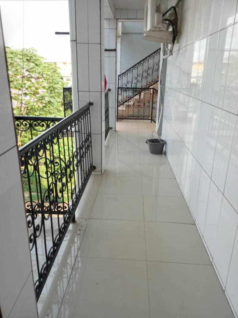Apartment to rent - Douala, Logpom, Ver bassong - 1 living room(s), 2 bedroom(s), 2 bathroom(s) - 120 000 FCFA / month