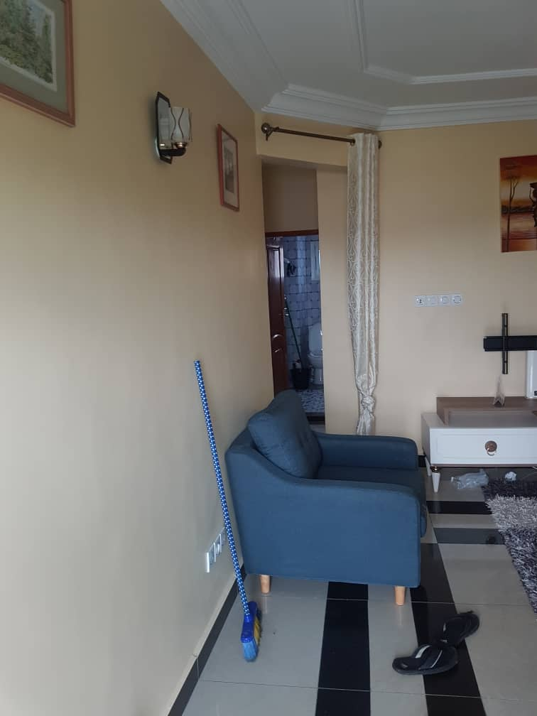 Apartment to rent - Douala, Ndogbong, PASSY - 1 living room(s), 1 bedroom(s), 1 bathroom(s) - 100 000 FCFA / month