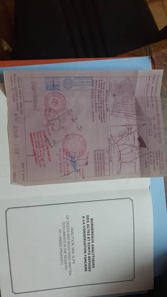 Land for sale at Douala, Yassa, NKOLBONG - 560 m2 - 22 400 000 FCFA
