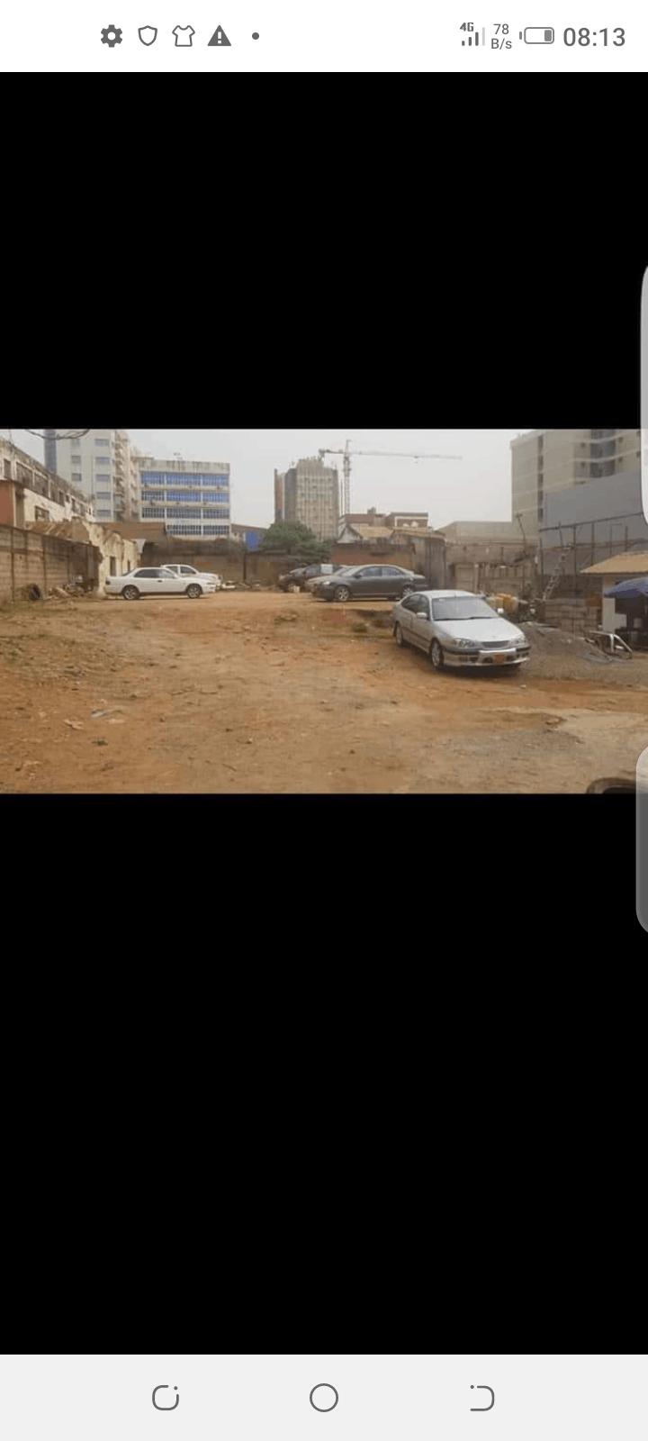 Land for sale at Yaoundé, Centre administratif, En face hôte Djeuga palace - 1000 m2 - 18 500 000 FCFA