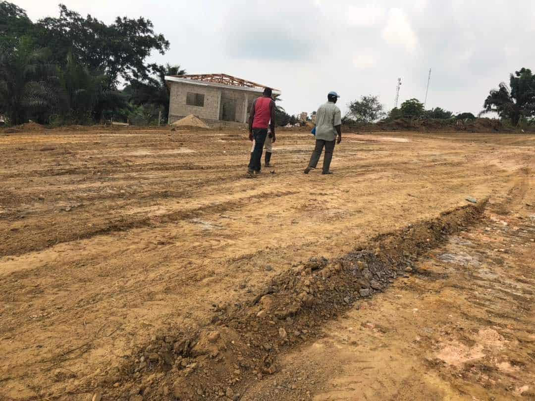 Land for sale at Douala, PK 20, Non loin de l'église catholique de PK 21 - 70000 m2 - 7 500 000 FCFA