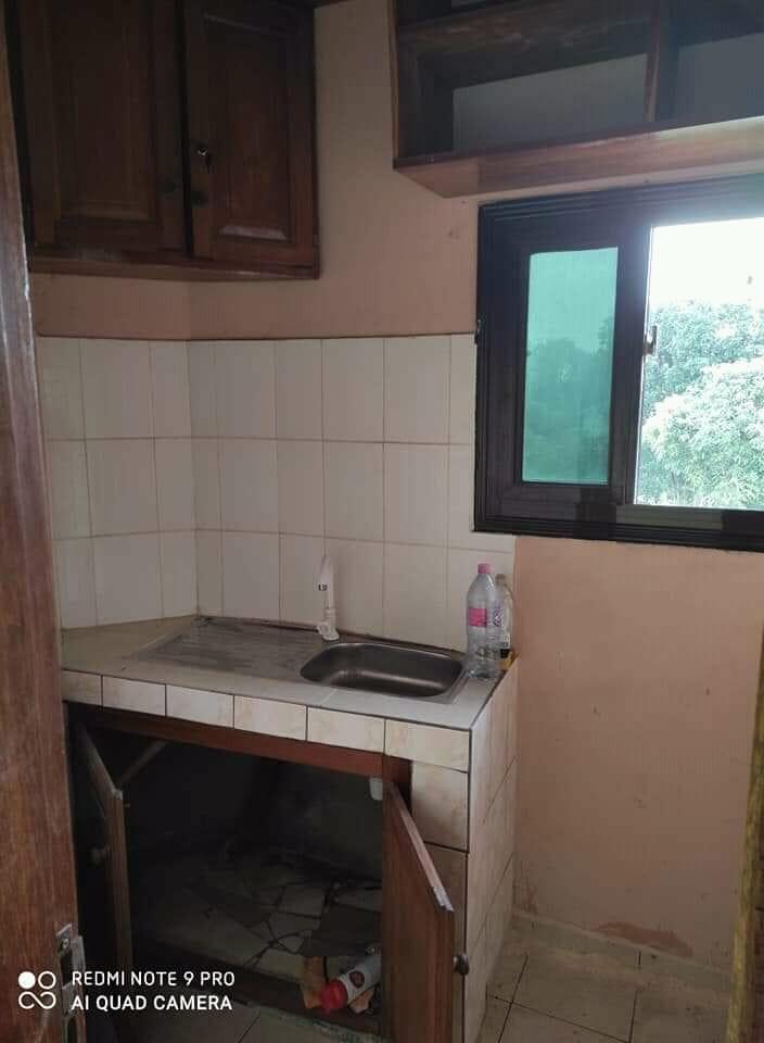 Apartment to rent - Douala, Kotto, Ver la chefferie - 1 living room(s), 1 bedroom(s), 1 bathroom(s) - 70 000 FCFA / month