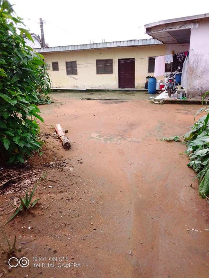 House (Villa) for sale - Douala, Logpom, Maison de 2 appartements à vendre (non loin de Andem) - 2 living room(s), 4 bedroom(s), 2 bathroom(s) - 60 000 000 FCFA / month