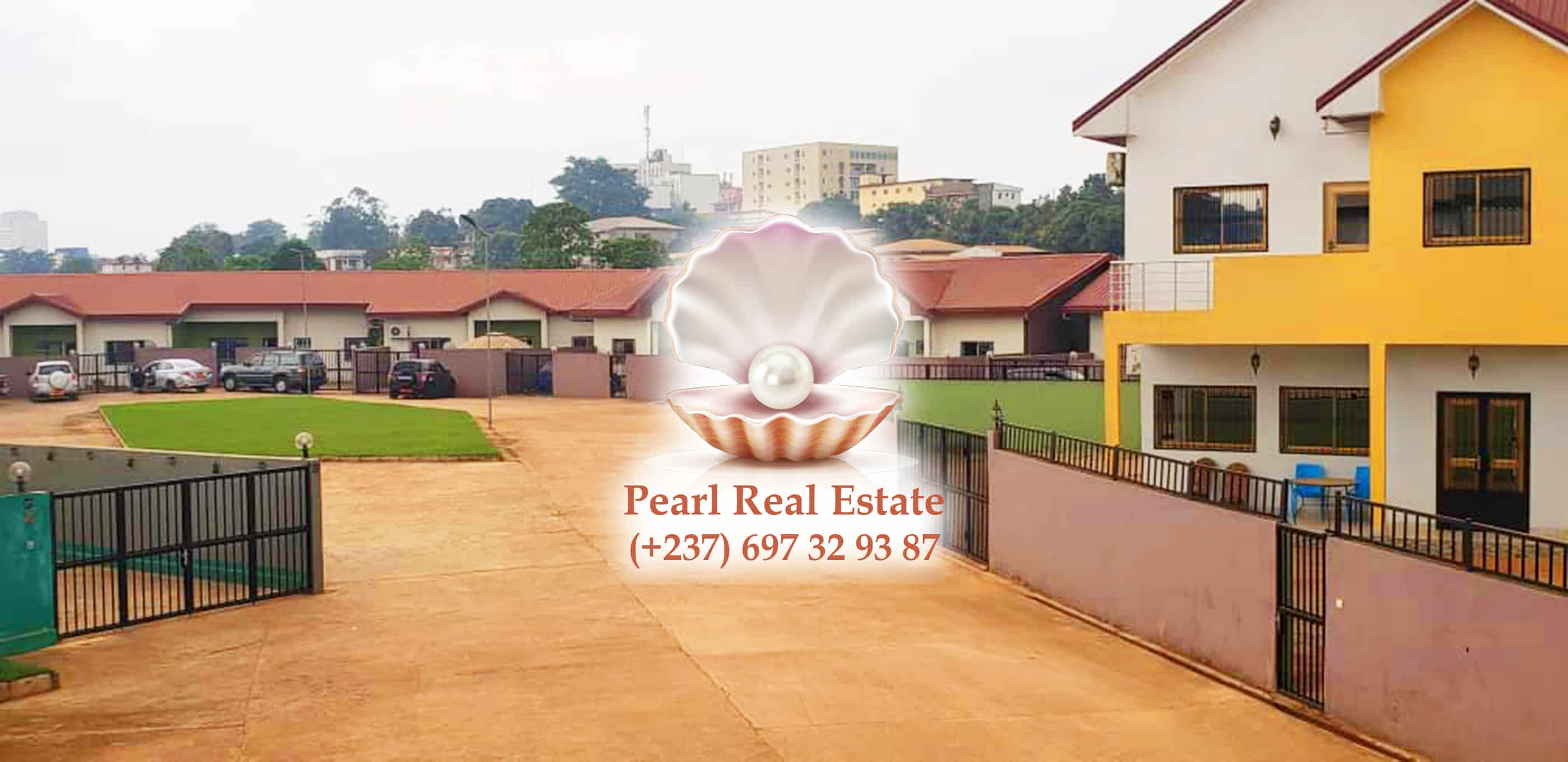 House (Villa) to rent - Yaoundé, Mfandena, Omnisports - 1 living room(s), 3 bedroom(s), 3 bathroom(s) - 450 000 FCFA / month