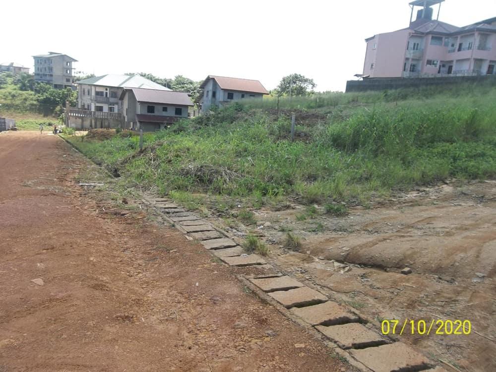 Land for sale at Douala, Akwa I, Cité Chirac - 1119 m2 - 85 000 000 FCFA