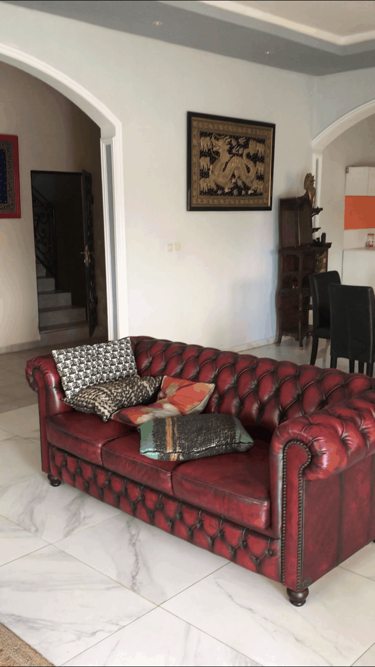 House (Villa) to rent - Yaoundé, Nkolfoulou, Saplait - 1 living room(s), 4 bedroom(s), 3 bathroom(s) - 650 000 FCFA / month