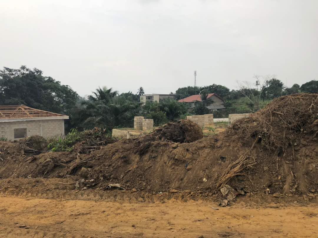Land for sale at Douala, PK 21, Non loin de l'église catholique de PK 21 - 150000 m2 - 7 500 000 FCFA