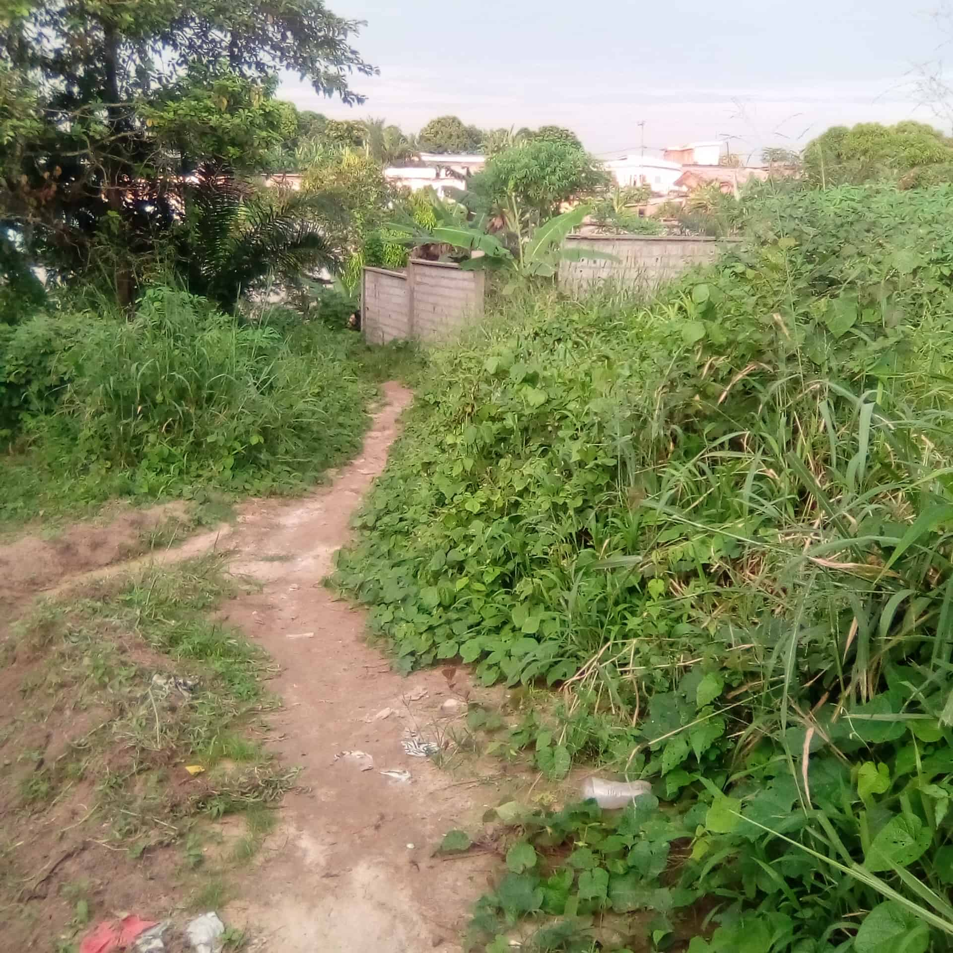 Land for sale at Douala, Logbaba, Jardin - 512 m2 - 14 336 000 FCFA