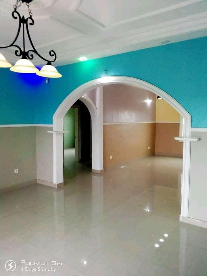 Apartment to rent - Douala, Logbessou I, Après la station nickel oil - 1 living room(s), 2 bedroom(s), 2 bathroom(s) - 135 000 FCFA / month