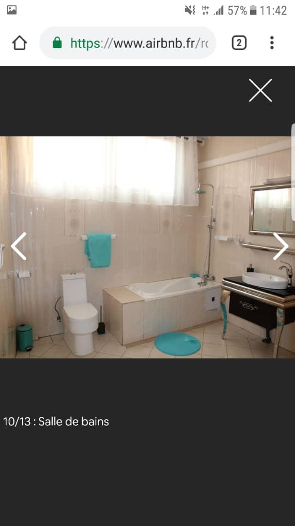 Apartment to rent - Yaoundé, Bastos, bastos - 2 living room(s), 3 bedroom(s), 3 bathroom(s) - 1 200 000 FCFA / month