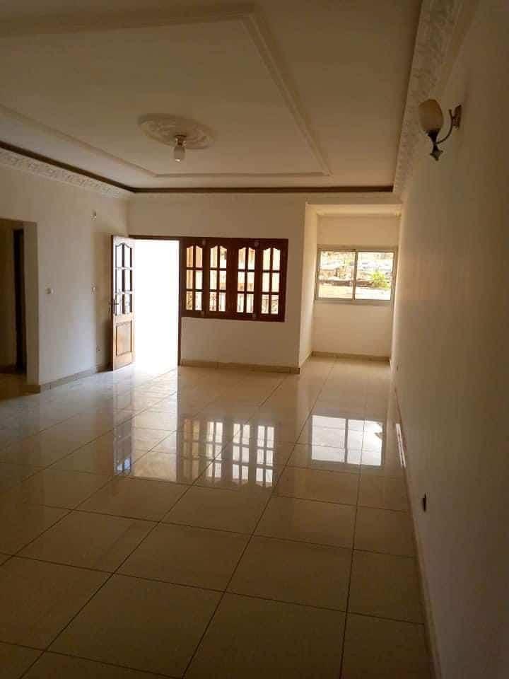 Appartement à louer - Yaoundé, Quartier Fouda, Nouvelle route - 1 salon(s), 3 chambre(s), 2 salle(s) de bains - 320 000 FCFA / mois