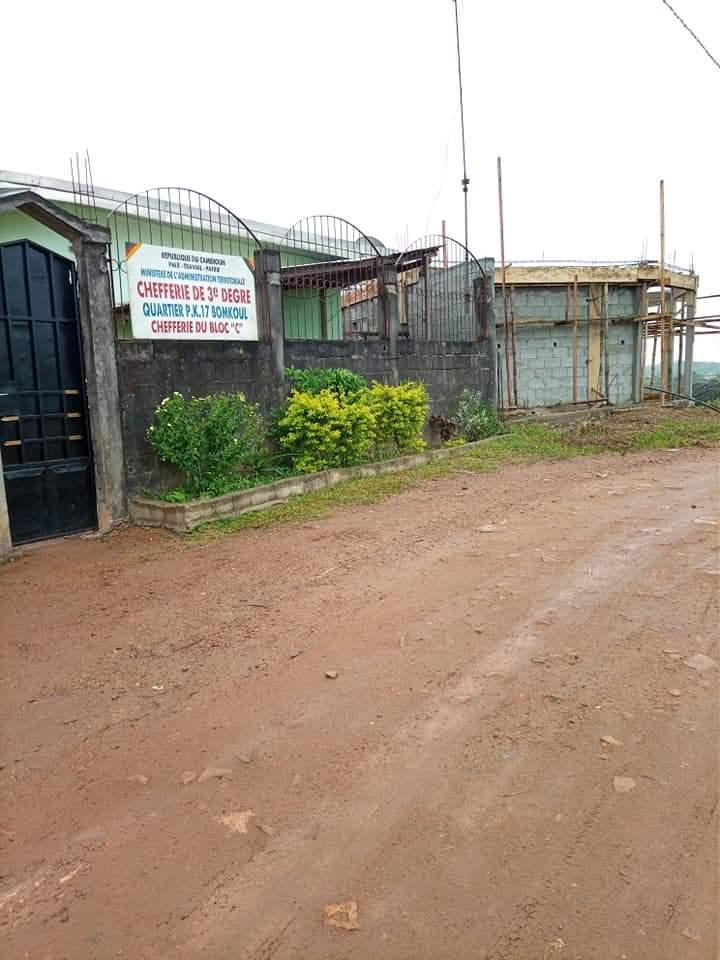 Land for sale at Douala, PK 17, Derrière l'Université d'État de pk 17 - 500 m2 - 12 500 000 FCFA