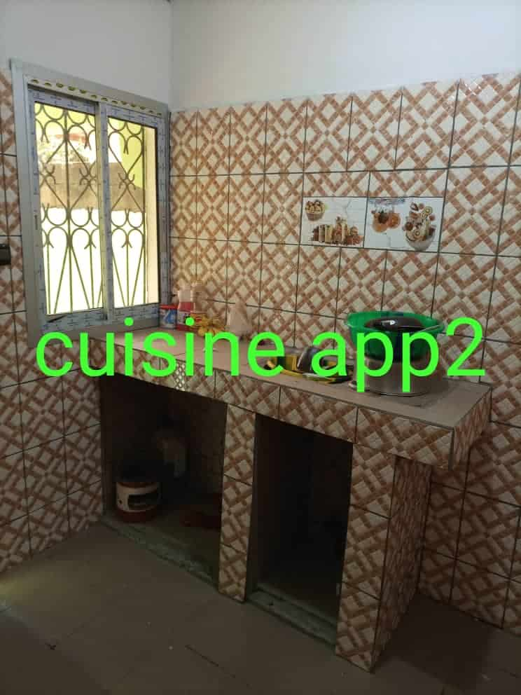 Apartment to rent - Yaoundé, Ngousso, Chapelle - 1 living room(s), 2 bedroom(s), 2 bathroom(s) - 150 000 FCFA / month