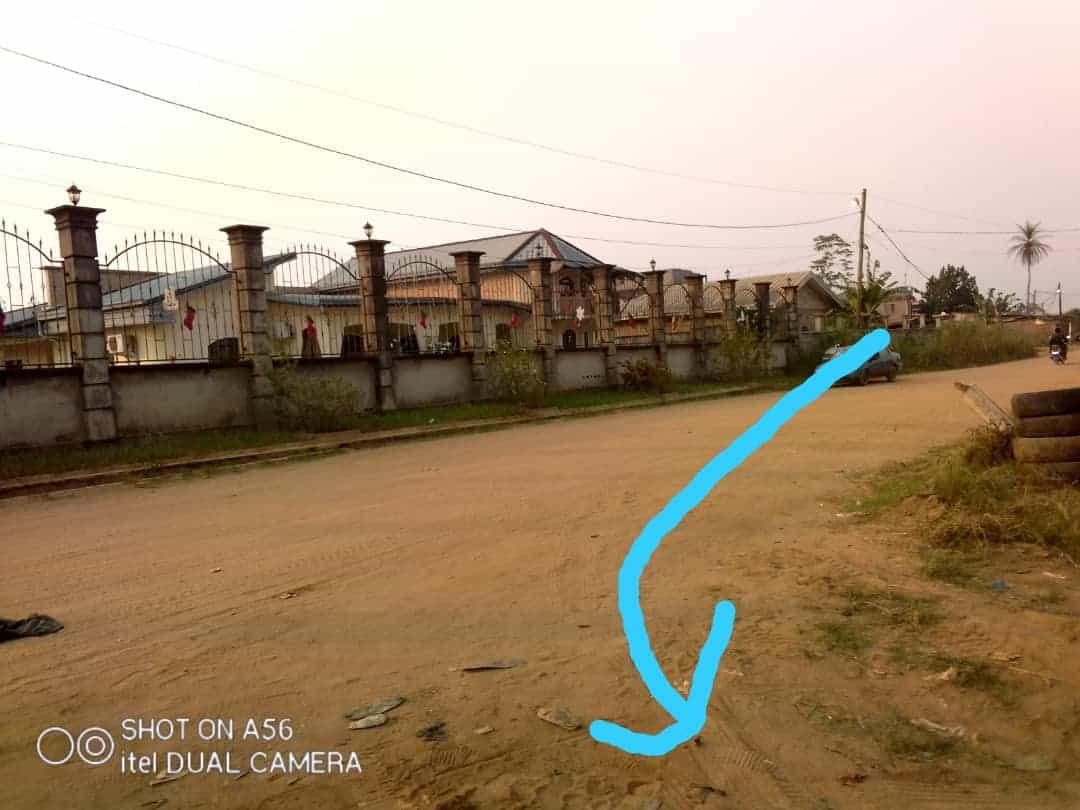 Land for sale at Douala, Lendi, Ver la chefferie - 1268 m2 - 38 040 000 FCFA