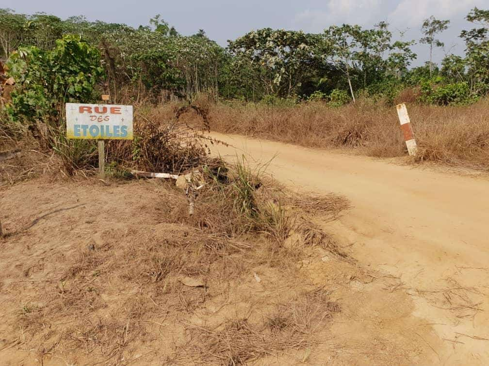 Land for sale at Douala, Lendi, Rue des étoiles - 40000 m2 - 5 000 000 FCFA