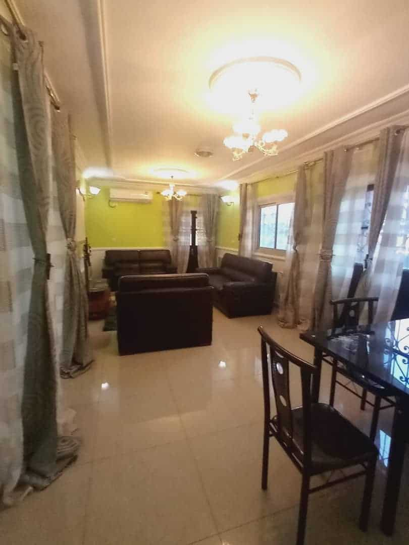 Apartment to rent - Douala, Logbessou I, Avant carrefour logbessou - 1 living room(s), 2 bedroom(s), 2 bathroom(s) - 130 000 FCFA / month
