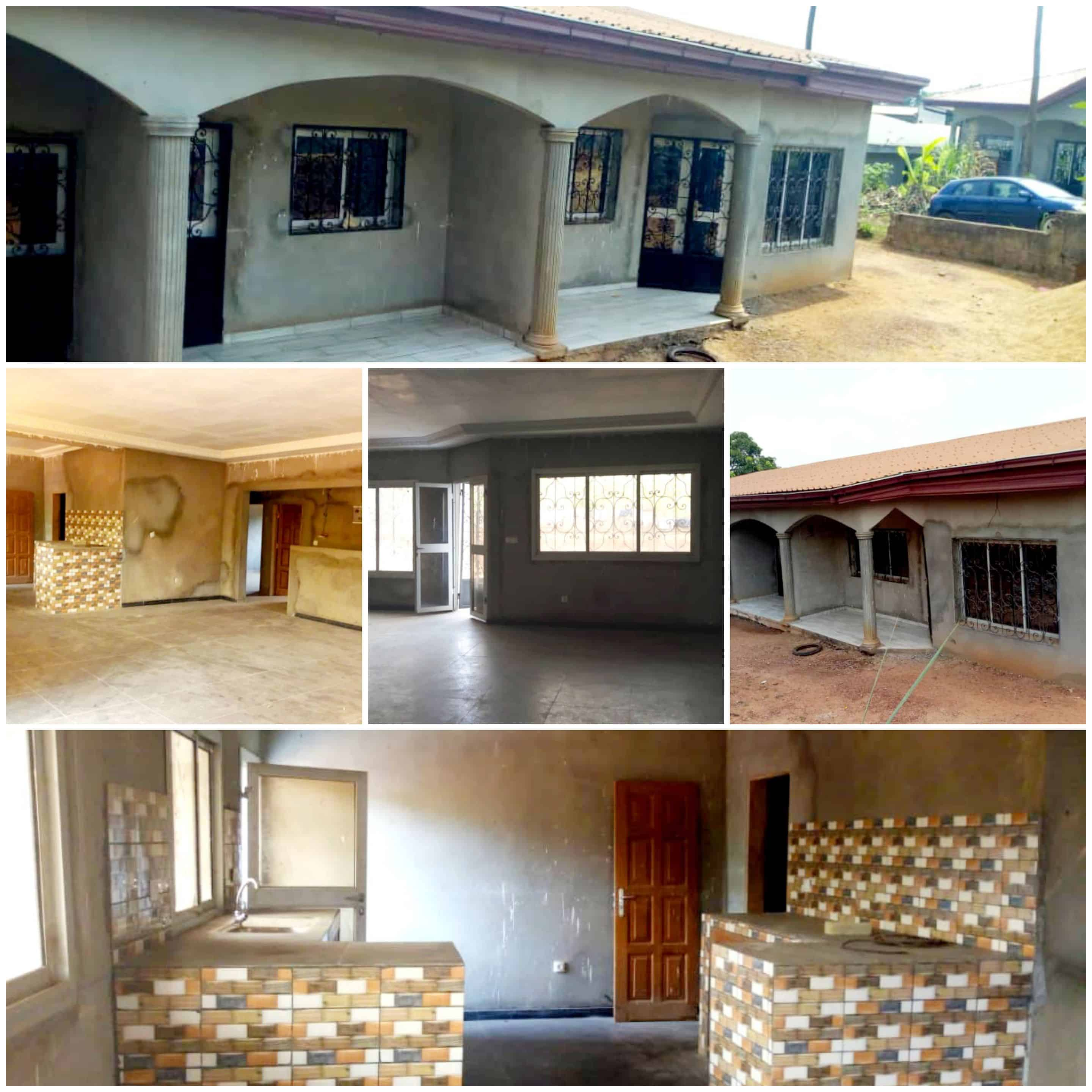 House (Villa) for sale - Yaoundé, Mfou, Abang-yaoundé - 1 living room(s), 3 bedroom(s), 2 bathroom(s) - 37 000 000 FCFA / month