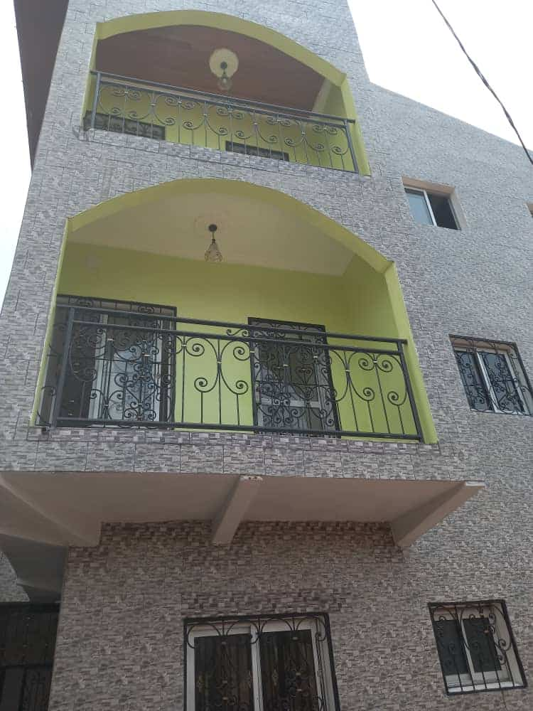 Apartment to rent - Yaoundé, Ngousso, HOPITAL - 1 living room(s), 1 bedroom(s), 1 bathroom(s) - 75 000 FCFA / month