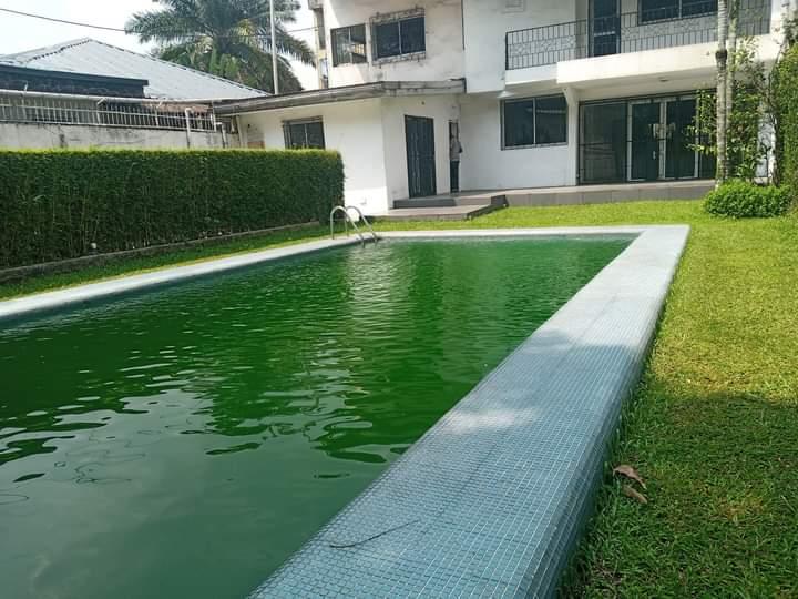House (Duplex) to rent - Douala, Bonapriso, Duplex à jouer avec piscine à Bonapriso,  Douala - 1 living room(s), 4 bedroom(s), 4 bathroom(s) - 1 800 000 FCFA / month