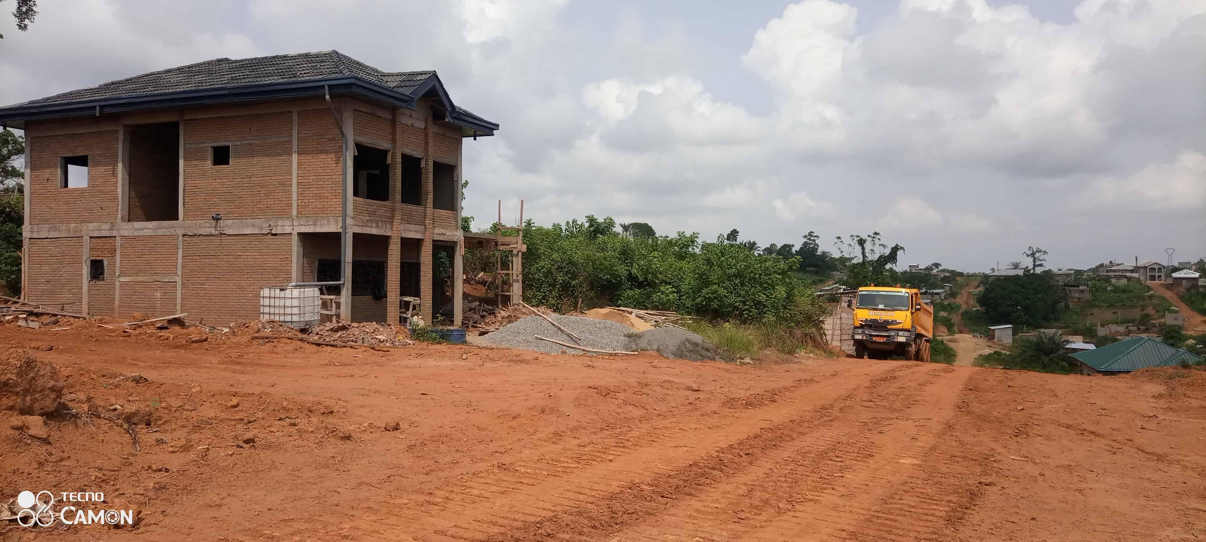 Land for sale at Douala, PK 17, DERRIÈRE L'UNIVERSITÉ DE LOGBESSOU CAMPUS PK17 - 200 m2 - 3 000 000 FCFA