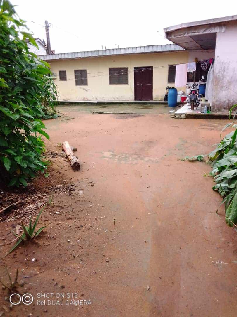 Land for sale at Douala, Logpom, emmanuel petit - 408 m2 - 34 680 000 FCFA
