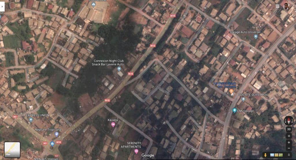 Land for sale at Yaoundé, Centre administratif, centre - 1000 m2 - 50 000 000 FCFA