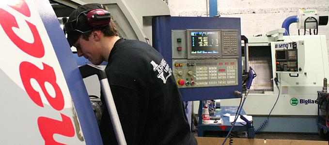 Fräsning med CNC-fräs