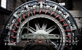 Těžní stroj dolu Hlubina