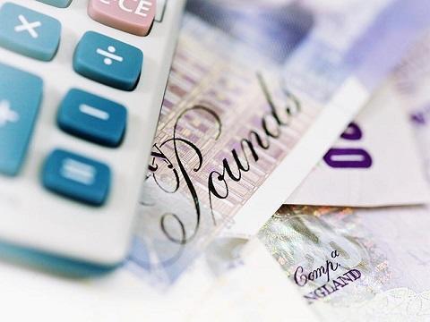 Calculator and money 480x360
