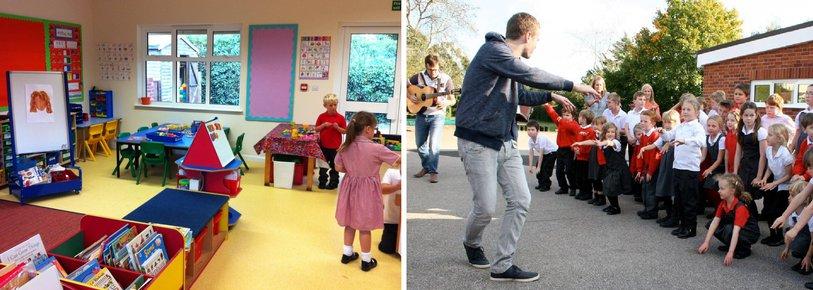 Snape Primary school - new classroom