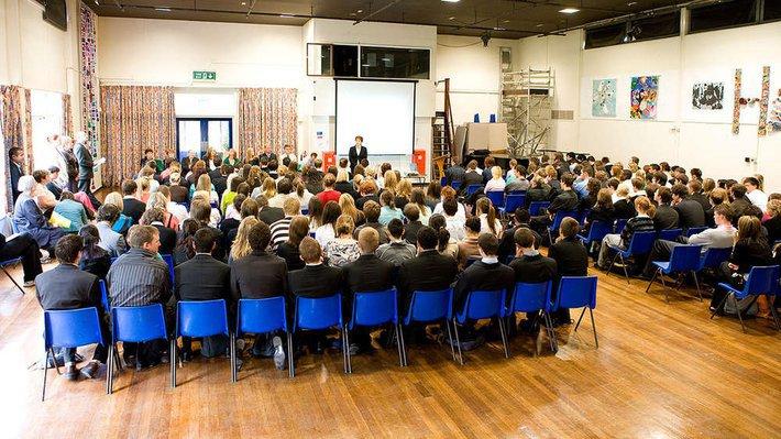 Secondary school assembly 1280x720