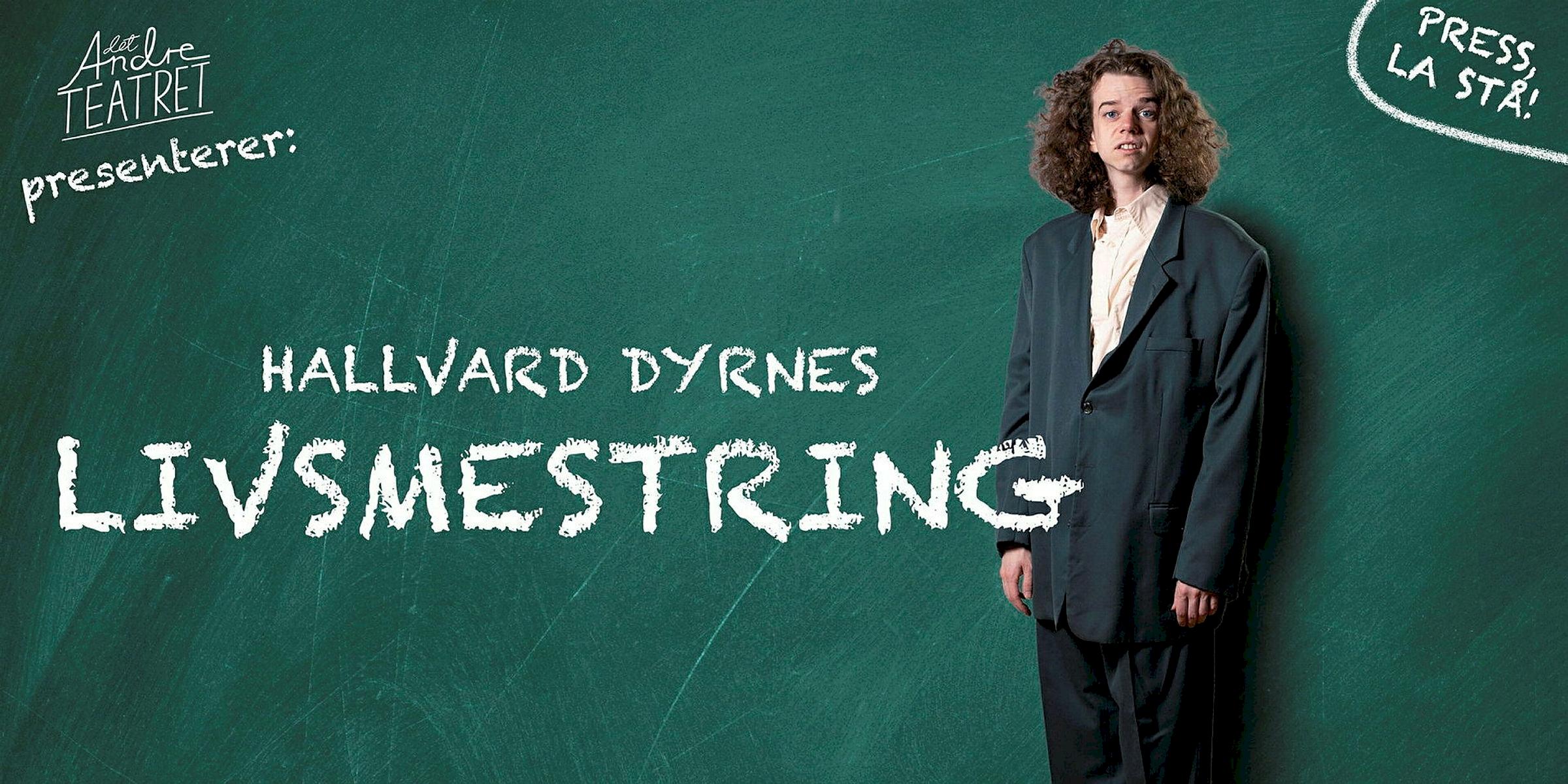 Livsmestring - Stand up med Hallvard Dyrnes - Bestillingstilbud