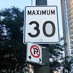 Speed Limits Reduced to 30 km/h In Neighbourhoods Across Toronto