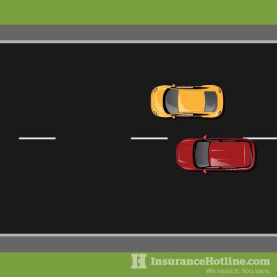 staged car crash
