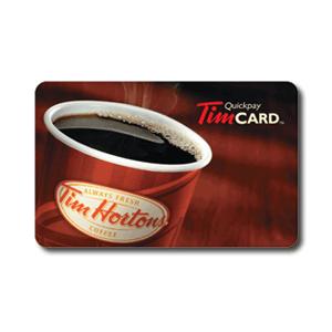Tim Horton's Gift Card