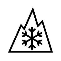 Winter tire symbol