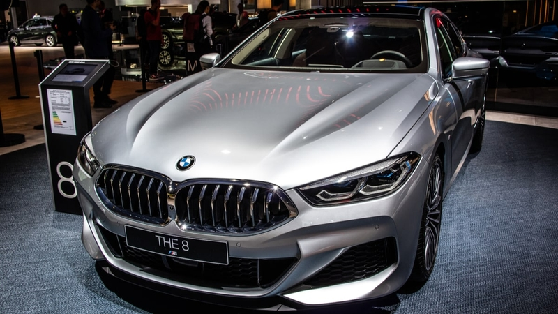 Silver BMW 4 Series
