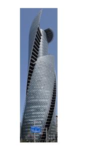 地上50階 総合校舎コクーンタワー